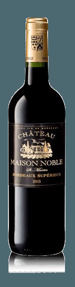 Château Maison Noble St Martin Bordeaux Supérieur AOP Rouge 2015 Merlot