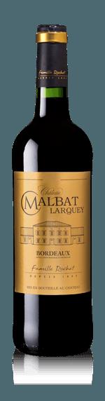 Château Malbat Larquey 2016 (i trälåda) Merlot 80% Merlot, 20% Cabernet Sauvignon Bordeaux