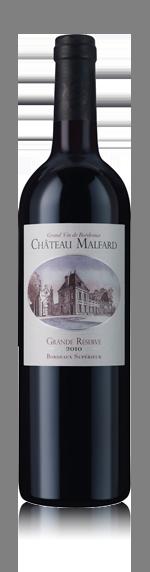 vin Château Malfard 2010 Bordeaux Rouge Organic 2010 Merlot