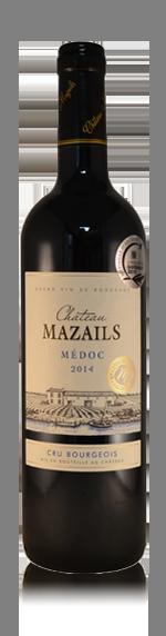 vin Château Mazails Cru Bourgeois 2014 Cabernet Sauvignon