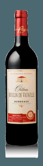Château Moulin de Vignolle 2016 (i trälåda) Merlot 85% Merlot, 15% Cabernet Sauvignon Bordeaux