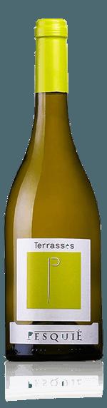 Château Pesquié Les Terrasses Blanc 2017 Viognier 70% Viognier, 15% Rousanne, 15% Clairette Vin de Pays