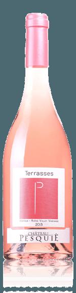 Château Pesquié Les Terrasses Rosé Ventoux Bio 2018 Syrah Syrah, Cinsaut, Grenache Rhônedalen