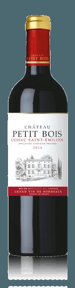 vin Château Petit Bois Lussac-Saint-Émilion 2016 Merlot