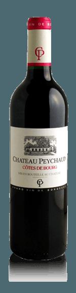 vin Château Peychaud Côte de Bourg 2016 Merlot