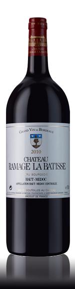 vin Château Ramage La Batisse Haut-Médoc 2010 Magnum Merlot