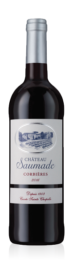 vin Château Saumade Corbieres 2016 Syrah