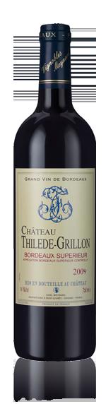 vin Château Thilede-Grillon 2009 Merlot