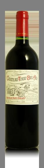 vin Château Tour Bel Air 2014 Merlot