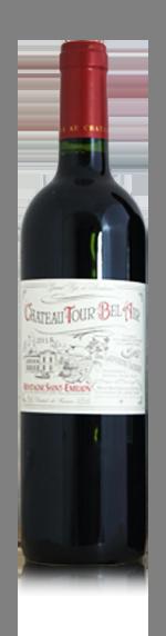 Chateau Tour Bel Air 2015 (i trälåda) Merlot 70% Merlot, 15% Cabernet Sauvignon, 15% Cabernet Franc Bordeaux