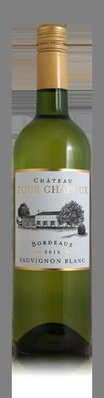 vin Château Tour Chapoux Bordeaux AOC Blanc 2016 Sauvignon Blanc
