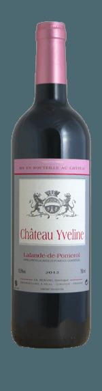 vin Chateau Yveline Lalande de Pomerol 2012 Merlot