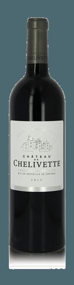 vin Château de Chelivette Bordeaux Supérieur AOP Rouge 2015 Merlot
