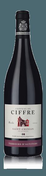 vin Château de Ciffre Terroirs d'Altitude 2014 Syrah