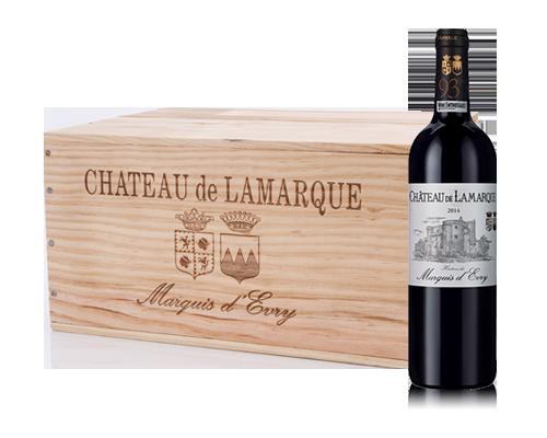 Château de Lamarque 2014 (6 flaskor i trälåda)