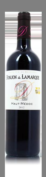 vin Château de Lamarque 'Donjon' 2012 Merlot
