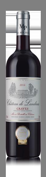 vin Château de Landiras 2014 Merlot