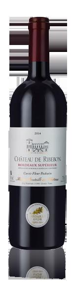 vin Château de Ribebon Bordeaux Superieur 2014 Merlot