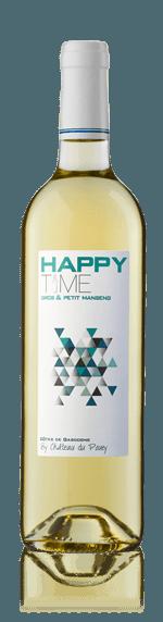Chateau du Pouey Happy Time Côtes de Gascogne 2016 Gros Manseng 60% Gros Manseng, 40% Petit Manseng Sydfrankrike