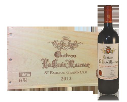 Château la Croix Mazeran St Emilion GC 2012 (6 flaskor i trälåda)