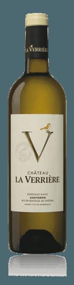 Château la Verriere Bordeaux Blanc 2018 Sauvignon Blanc 100% Sauvignon Blanc Bordeaux