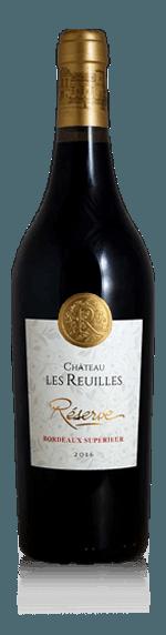 Château les Reuilles Bordeaux Superieur Réserve 2017 Merlot 80% Merlot, 15% Cabernet Sauvignon, 5% Malbec Bordeaux