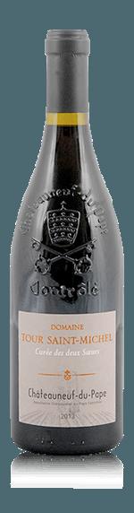 vin Châteauneuf-du-Pape Cuvée Deux Soeurs Tour St Michel 2015  Grenache