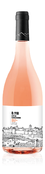Cite de Carcassonne D118 Rose 2017