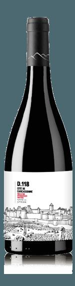 vin Cite de Carcassonne D118 Rouge 2017 Merlot