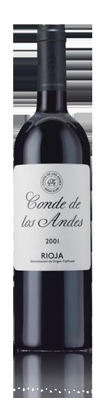 vin Conde De Los Andes Rioja 2001 Tempranillo