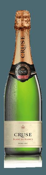 vin Cruse Mousseux Demi Sec Blanc De Blancs NV Ugni Blanc