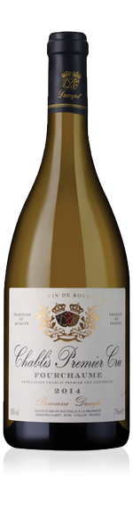 vin Domaine Dampt Chablis PC Fourchaume 2014 Chardonnay