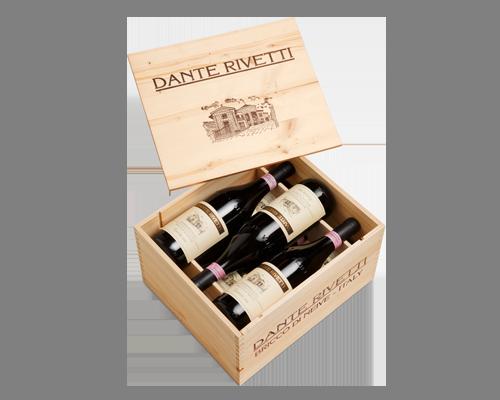 Dante Rivetti Bricco de Neueis Barbaresco Ris. 1996 (6 flaskor i trälåda)