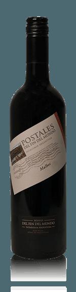 vin Del Fin Del Mundo Postales Malbec Patagonia 2015 Malbec