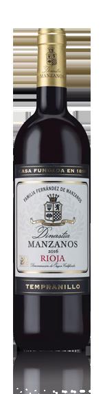 vin Dinastia Manzanos Oak Aged Rioja 2016 Tempranillo