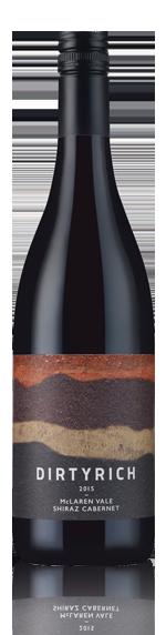 vin Dirtyrich Shiraz Cab By Penny's Hill 2015 Shiraz