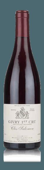 vin Domaine Clos Salomon Givry Rouge 1er Cru 2014  Pinot Noir