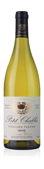 vin Domaine Dampt Petit Chablis Vv 2016 Chardonnay