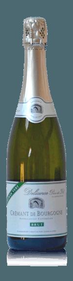 Domaine Deliance Ruban Vert Crémant de Bourgogne NV Chardonnay 95% Chardonnay, 5% Aligoté Bourgogne