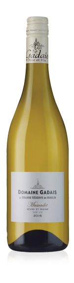 vin Domaine Gadais La Grande Réserve du Moulin 2016 Melon de Bourgogne