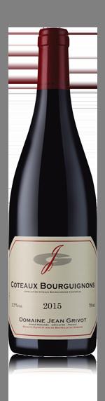 vin Domaine Grivot Coteaux Bourguignons 2015 Gamay