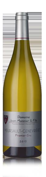 vin Domaine Jean Monnier et Fils Meursault Premier Cru Genevrières 2015 Chardonnay
