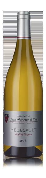 vin Domaine Jean Monnier et Fils Meursault Vieilles Vignes 2015 Chardonnay