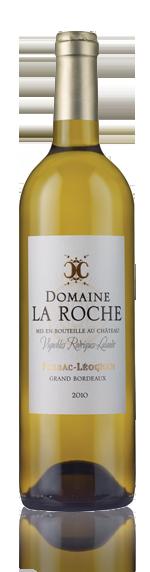vin Domaine La Roche Blanc 2010 Sémillon