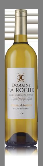 vin Domaine La Roche Blanc 2011 Sémillon