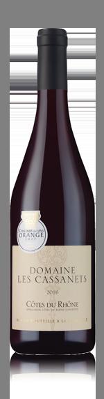 vin Domaine Les Cassanets CDR 2016 Grenache