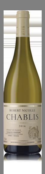 vin Domaine Mandeliere Robert Nicolle Chablis 2016 Chardonnay