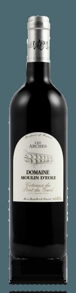 vin Domaine Moulin d'Eole Les Arches Rouge 2016  Carignan