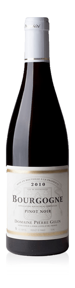 vin Domaine Pierre Gélin Bourgogne Rouge Pinot Noir 2014 Pinot Noir