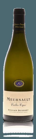 vin Domaine Sylvain Dussort Vieille Vignes Meursault AOP Blanc 2015 Chardonnay
